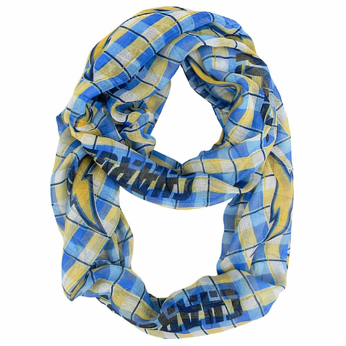 San Diego Chargers Sheer Infinity Scarf
