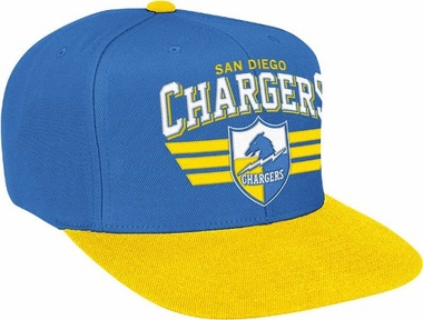 San Diego Chargers Stadium Throwback Snapback Hat