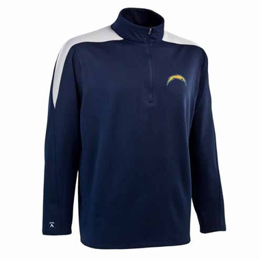 San Diego Chargers Mens Succeed 1/4 Zip Performance Pullover (Team Color: Navy)