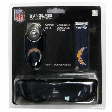 San Diego Chargers Sunglass Tri-Pack (F)