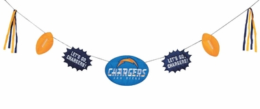 San Diego Chargers Team Celebration Banner