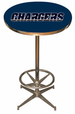 San Diego Chargers Team Pub Table