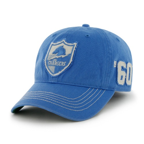San Diego Chargers Throwback Badger Franchise Flex Fit Hat