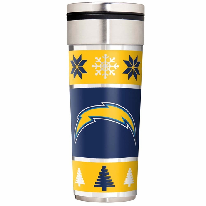 San Diego Chargers Travel Tumbler With Hi Def Graphics