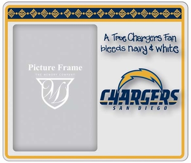 San Diego Chargers True Fan Picture Frame