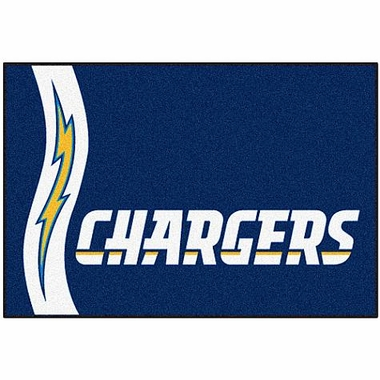 San Diego Chargers Uniform Inspired 20 x 30 Rug