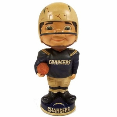 San Diego Chargers Vintage Retro Bobble Head