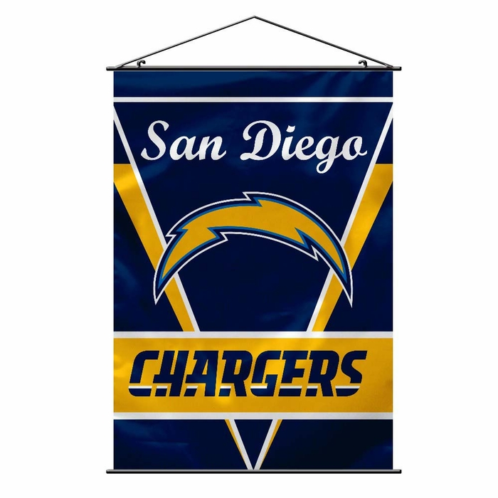 San Diego Chargers Canopy: San Diego Chargers Wall Banner (P