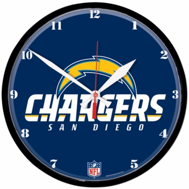 San Diego Chargers Wall Clock