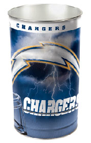 San Diego Chargers Waste Basket