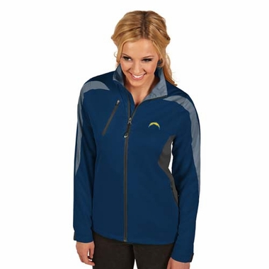San Diego Chargers Womens Discover Jacket (Color: Navy)