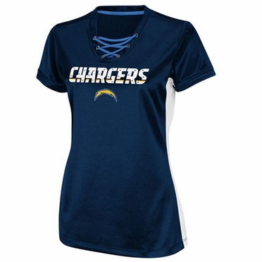 San Diego Chargers Womens Draft Me IV Jersey Top