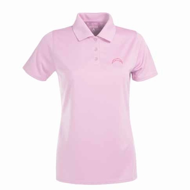 San Diego Chargers Womens Exceed Polo (Color: Pink)