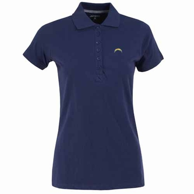 San Diego Chargers Womens Spark Polo (Team Color: Navy)