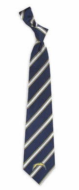 San Diego Chargers Woven Poly 1 Necktie