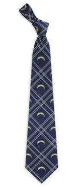 San Diego Chargers Woven Poly 2 Necktie