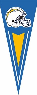 San Diego Chargers Yard Pennant