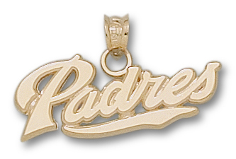 San Diego Padres 10K Gold Pendant