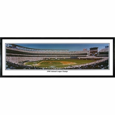San Diego Padres 1998 National League Champions Framed Panoramic Print