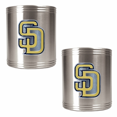 San Diego Padres 2 Can Holder Set