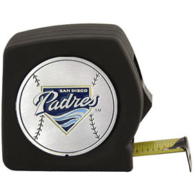 San Diego Padres 25 Foot Tape Measure