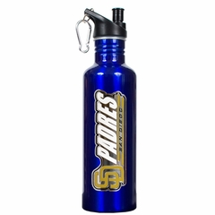 San Diego Padres 26oz Stainless Steel Water Bottle (Team Color)