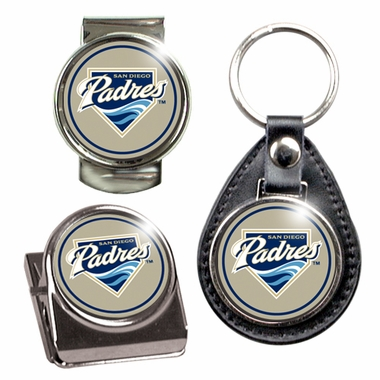 San Diego Padres 3 Piece Gift Set