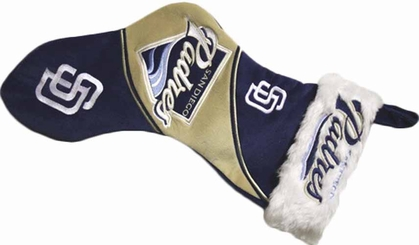 San Diego Padres 3-Tone Plush Stocking