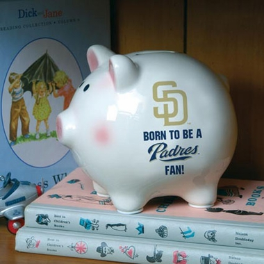 San Diego Padres (Born to Be) Piggy Bank
