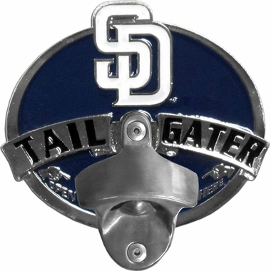 San Diego Padres Bottle Opener Hitch Cover