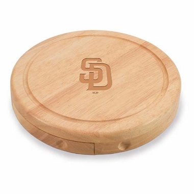 San Diego Padres Brie Cheese Board