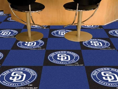San Diego Padres Carpet Tiles