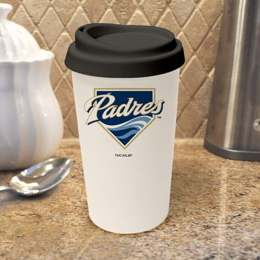 San Diego Padres Ceramic Travel Cup