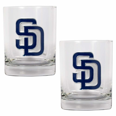 San Diego Padres Double Rocks Set