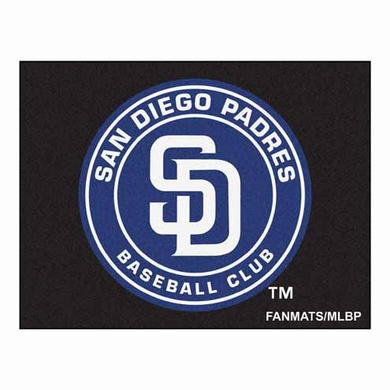 San Diego Padres Economy 5 Foot x 6 Foot Mat