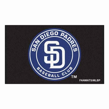 San Diego Padres Economy 5 Foot x 8 Foot Mat