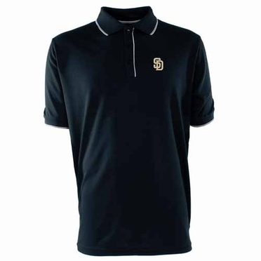 San Diego Padres Mens Elite Polo Shirt (Team Color: Navy)