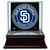 San Diego Padres Display Cases