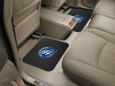 San Diego Padres SET OF 2 Heavy Duty Vinyl Rear Car Mats