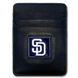 San Diego Padres Leather Money Clip (F)