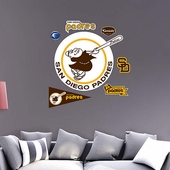 San Diego Padres Wall Decorations