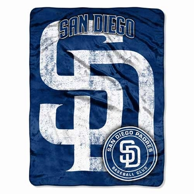 San Diego Padres Microfiber Throw