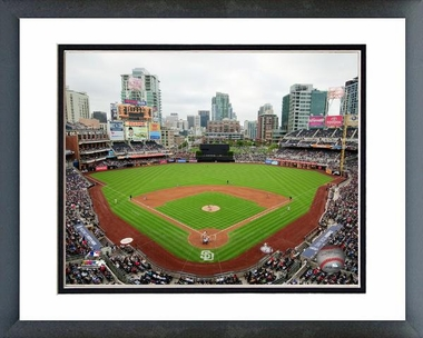 San Diego Padres Petco Park 2011 16x20 Framed And Double