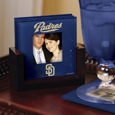 San Diego Padres Photo Coaster Set