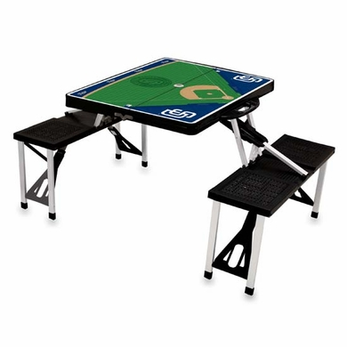 San Diego Padres Picnic Table Sport (Black)