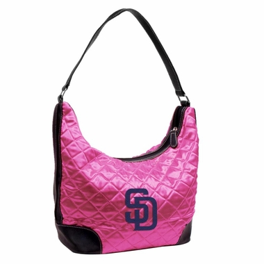 San Diego Padres Quilted Hobo Purse