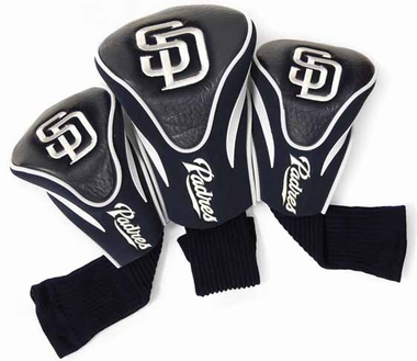 San Diego Padres Set of Three Contour Headcovers