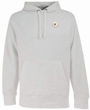 San Diego Padres Mens Signature Hooded Sweatshirt (Cooperstown) (Team Color: White)