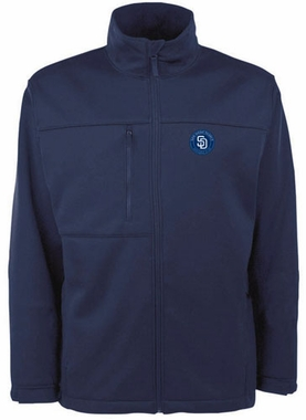 San Diego Padres Mens Traverse Jacket (Team Color: Navy)