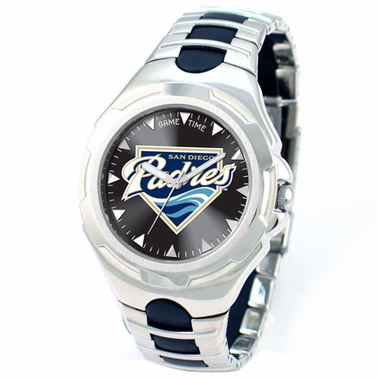 San Diego Padres Victory Mens Watch